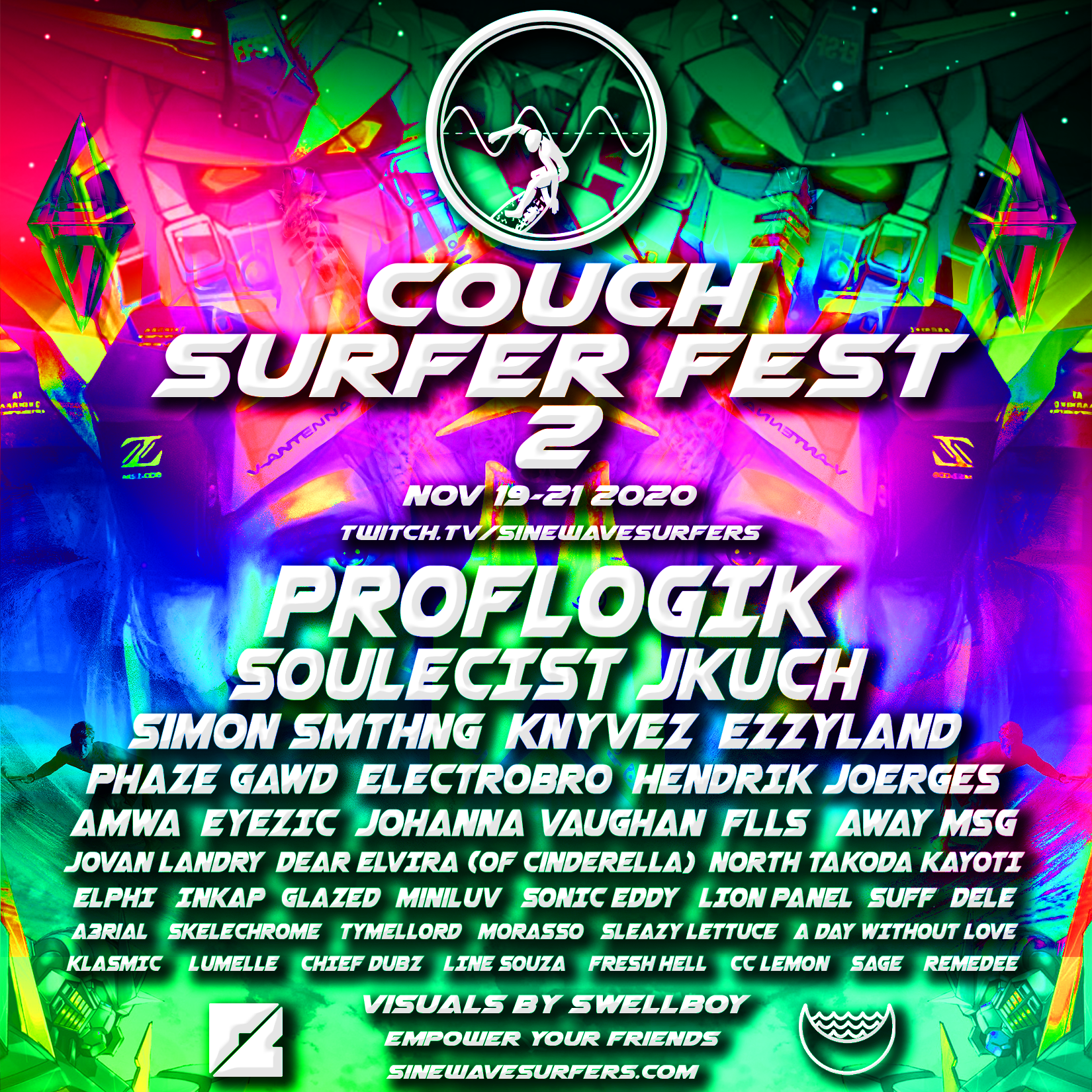 COUCH SURFER FESTIVAL 2 [Nov. 19-21]