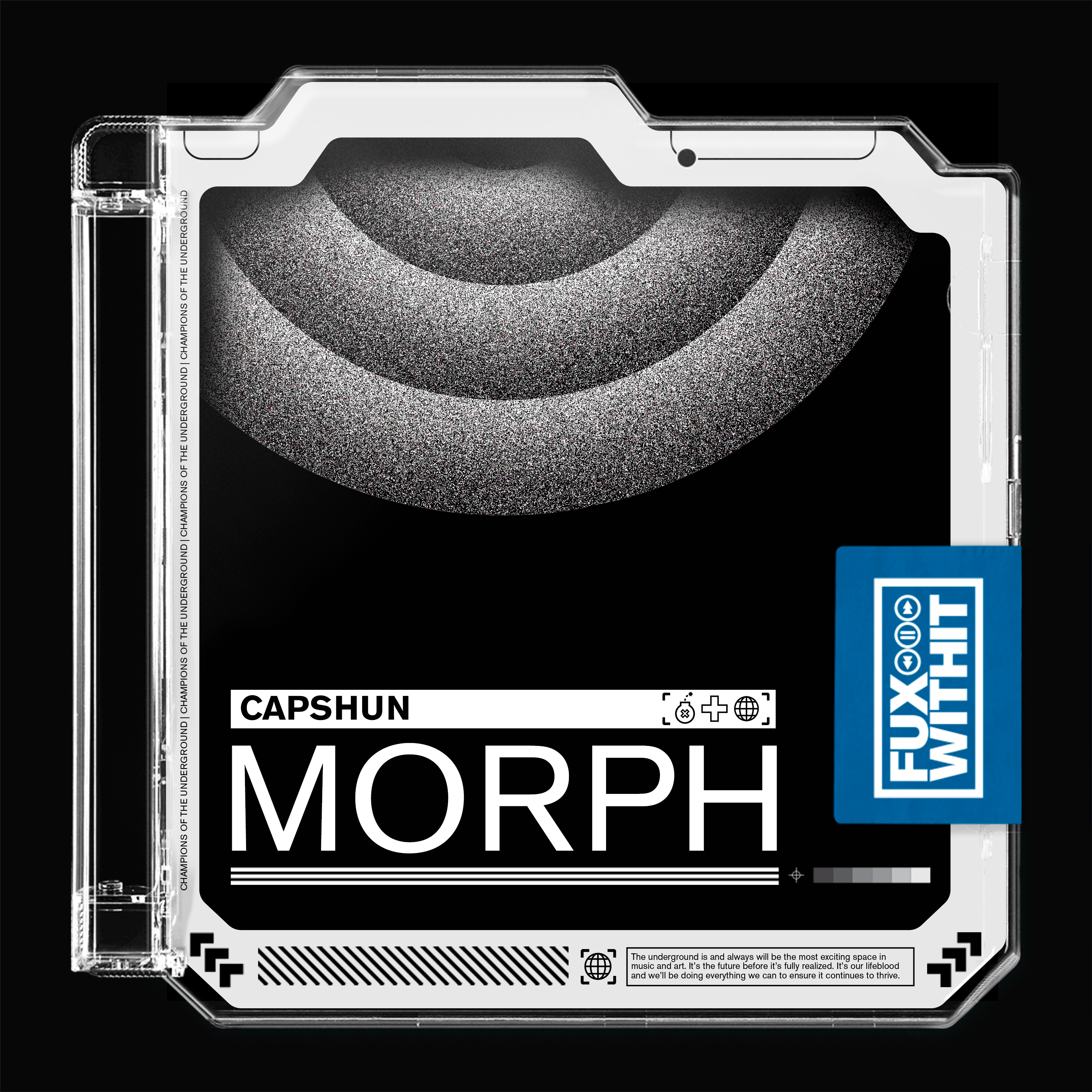 """capshun Debuts """"Morph"""", Kicking Off FUXWITHIT's Record Label Launch"""